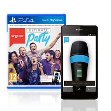 SingStar Ultimate Party PS4 Games PlayStation 4 NEW Consoles Game