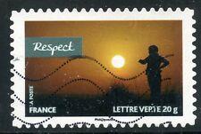 TIMBRE FRANCE AUTOADHESIF OBLITERE N° 812 /  SPORT / VALEURS DE FEMMES