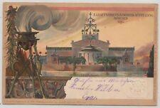 Privatganzsache 1898 Maschinenausstellung München gelaufen (20606)