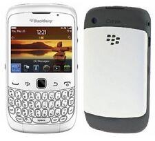 BRAND NEW  RIM Blackberry Curve 3G 9300 - White (Unlocked) Quadband Smartphone!
