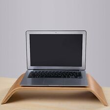 Diseño moderno Monitor De Computadora De Madera Dock Soporte Soporte Para Imac Pc Laptop