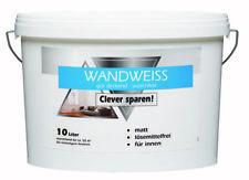 Wandfarbe Weiß 10ltr.1,89€/ltr. Dispersion innen  Hochdeckend  Waschbeständig