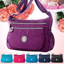 Small Waterproof Nylon Lady Women Messenger Tote Bag Shopping Fashion Handbag