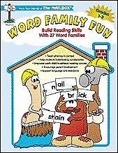 Word family fun: Build reading skills with 37 word