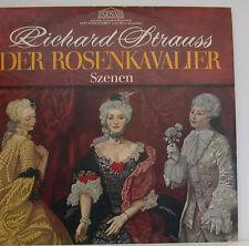 """BOUQUET DI ROSENKAVALIER SCHWARZKOPF EDELMANN HERBERT VON KARAJAN 12"""" LP (d836)"""