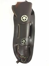 "Hunter Western Double Loop Leather Gun Holster Colt Ruger 7.5"" - 9.5"" RH 1552-OX"