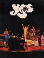 YES 1979 TORMATO U.S. TOUR CONCERT PROGRAM BOOK BOOKLET / JON ANDERSON / EX 2 NM