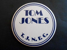 Vintage Singer Tom Jones T.J.N.F.C. Fan Club Pinback Button