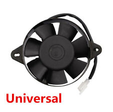 Universal Oil Cooler Cooling Fan For Motorcycle ATV Quad Go Kart Buggy Dirt Bike