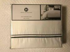 """HOTEL COLLECTION """"COORDINATED BASICS"""" KING COMFORTER/DUVET COVER [NEW]"""
