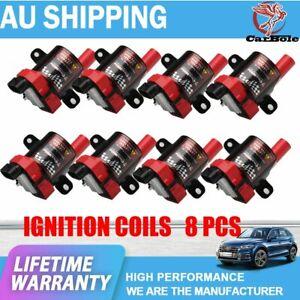 8 Pack D585 Ignition Coils For Chevy Silverado GMC LS1/LS3 4.8L/5.3L/6.0L UF262