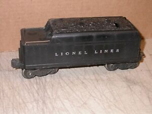 Postwar Lionel 0 027 2466WX Whistle Tender Very Nice Strong Whistle