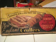 New listing Vintage 1950S New England Crullers Deep Frying Forms