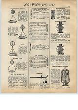 1931 PAPER AD 4 PG Dietz Hardware Store Lantern Stand Rack Paull's Coleman Lamp
