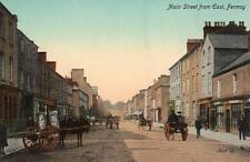 Main Street from East Fermoy unused old pc Valentines