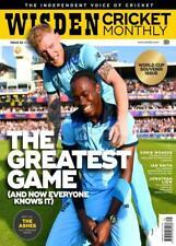 Wisden Cricket Monthly Magazine issue 22 - August- 2019