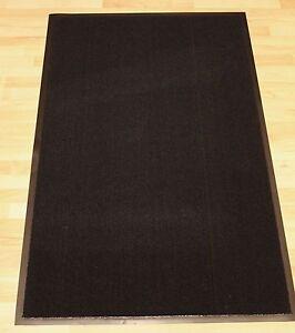 Heavy Duty Black Colour Non Slip Dirt Barrier Entrance Floor Mat Office Door Rug