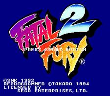 Fatal Fury 2 - Sega Genesis Game Only