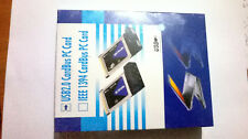 2 Port CardBus Laptop USB 2.0 PC Card Adaptor with cable and cd