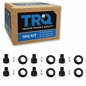 TRQ Engine Ignition Coil Boot Kit Set of 6 for Buick Cadillac Chevy GMC Pontiac