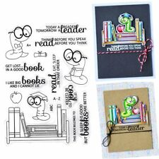 Transparent Clear Rubber Stamp Silicone Scrapbooking Photo Album Decorative DIY