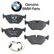 For BMW E39 525i 528i 530i 540i Rear Disc Brake Pad Set w/ Sensor Genuine