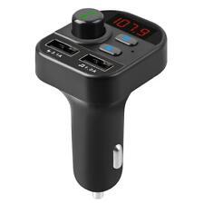 Wireless Bluetooth 5.0 Handsfree Car Kit FM Transmitter MP3 Player 2 USB Charger