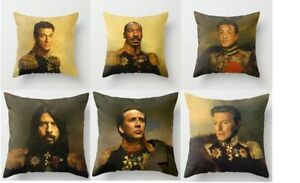 Portrait Cushion Covers! Dave Grohl, Bill Murray, Elvis, Arnie, Nic Cage & more!