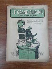 Revue LE GRAND GUIGNOL PAMPHLETAIRE ILLUSTRE No 10 (11 Janv.1922) Maurice Barrès