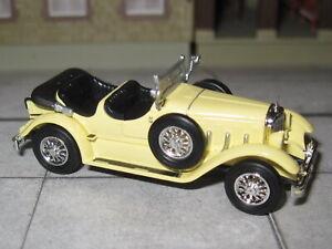 Ricko 38510 - Mercedes Benz 630K offen - 1927 - hellgelb