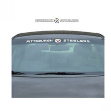 Team ProMark NFL Pittsburgh Steelers Car Truck Suv Windshield Decal Sticker