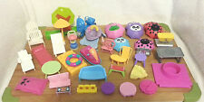 POLLY POCKET ACCESSORIES MISC LOT 40 PIECES