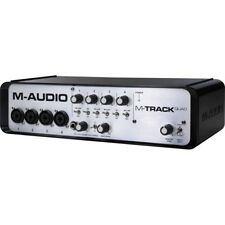 M-Audio M-Track Quad Audio Interface PC & MAC Soundcard Audiohub inc Warranty