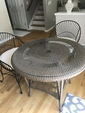 Lloyd And Flanders Round Outdoor /indoor Table