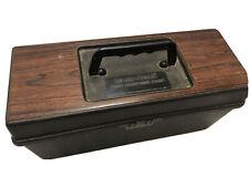 Vintage Radio Shack 8 Track Storage Case 70s 80's ? Music Carrying Box 8-Tracks