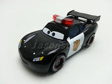 Mattel Disney Pixar Cars Police Lightning McQueen Metal Toy Car 1:55 Loose New *