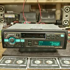 Rare ALPINE TDM-7547R Radio Cassette 35w x 4, pre out Full logic SCC2   MRV V12