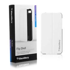 BlackBerry Smartphone Flip Shell Case for BlackBerry Z10 - White Genuine Cover