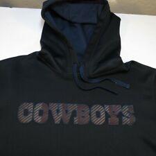 NIKE THERMA FIT NFL DALLAS COWBOYS FOOTBALL HOODIE HOODED SWEATSHIRT Sz Mens L