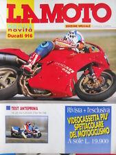 La Moto n°3 1994 - Test Ducati 916 - Suzuki GSX-R 750 W 94  [SC.7B]