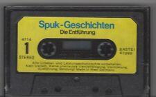 MC - SPUK GESCHICHTEN - Die Entführung - Bastei Hörspiel Kassette 1989