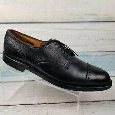 Allen Edmonds Lexington Mens Black Cap Toe Derby Leather Shoes Size 13 A
