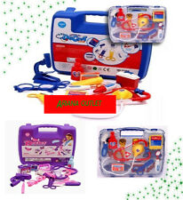 Children Kid Doctor Nurse Carry Case Medical Kit Play Set Dress Up Role Toy Gift