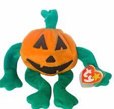 Beanie Babies Halloween plush bean bag stuffed animal Halloween Pumkin Pumpkin