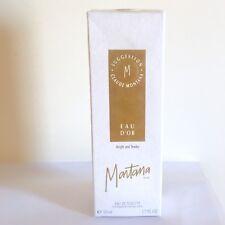 CLAUDE MONTANA EAU D'OR for Woman 50ml Eau de Toilette Spray New & Sealed