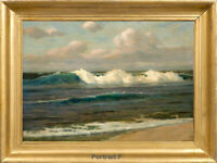 Old Master Art Ocean Waves Seascape Oil Painting Canvas Unframed 24x36