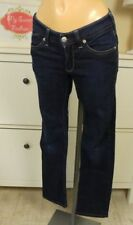REPLAY & SONS JEANS a Sigaretta Tubo Blu Tg. S 36 (a92)