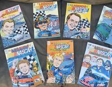 Legends Of Nascar Comic Book Set (Petty, Elliott, Marlin, Schrader, Lorenzen)