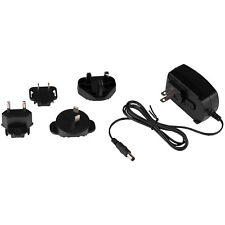 9 VDC 1.1A AC Adapter with Five Interchangeable International AC plugs