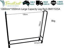 Large Log Rack Firewood Storage Log Holder Firewood Rack 1.2x0.2x1.0m Log Stand